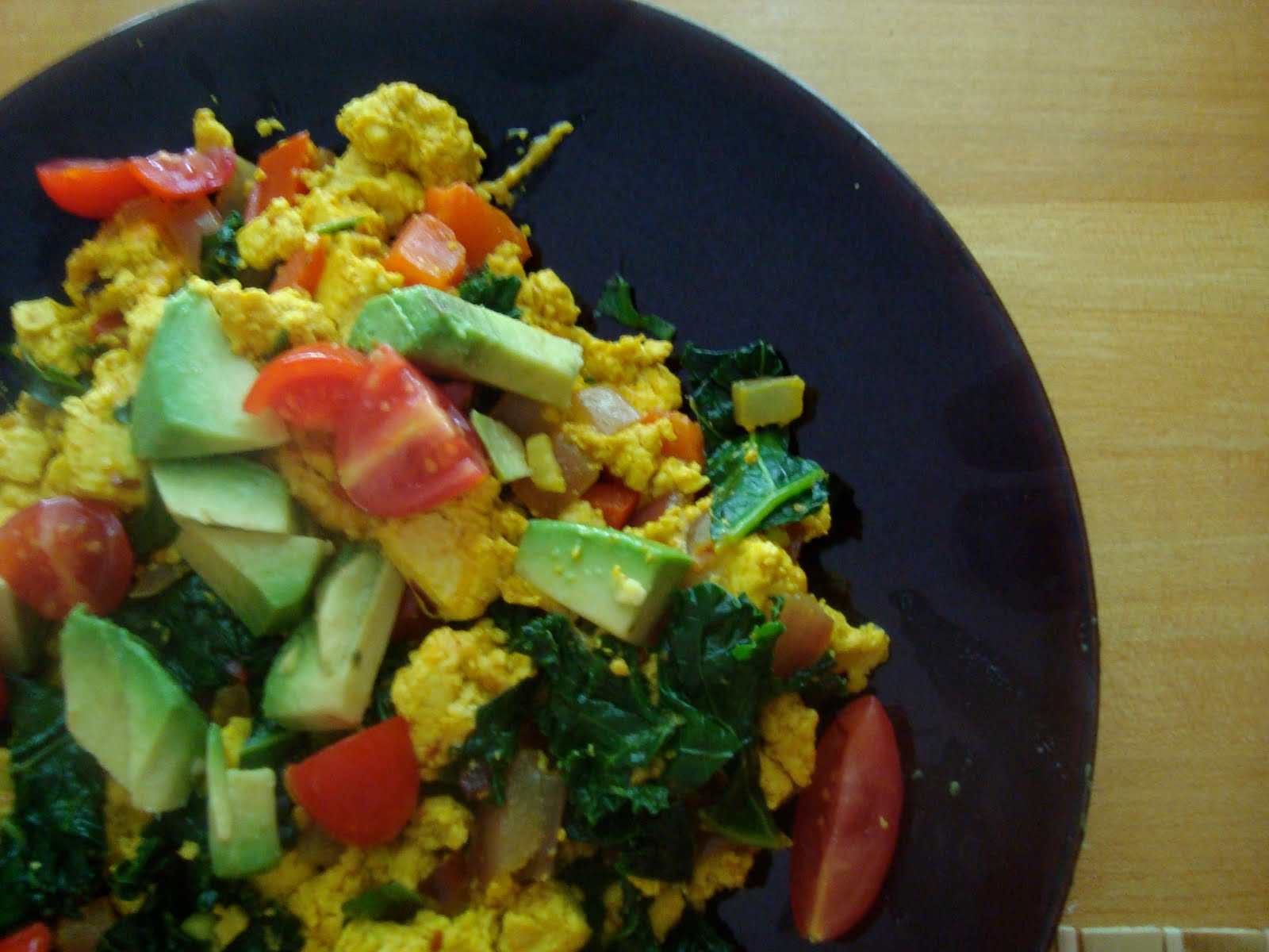 Awesome Vegan Tofu Scramble for Breakfast
