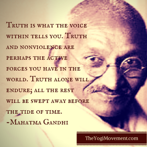 Truth is what the voice within tells