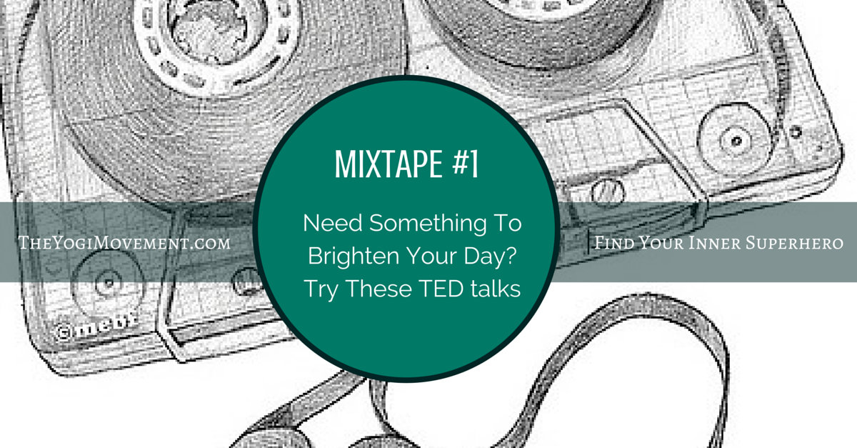 Inspiring TED Talks To Bring You Up When You're Feeling Down