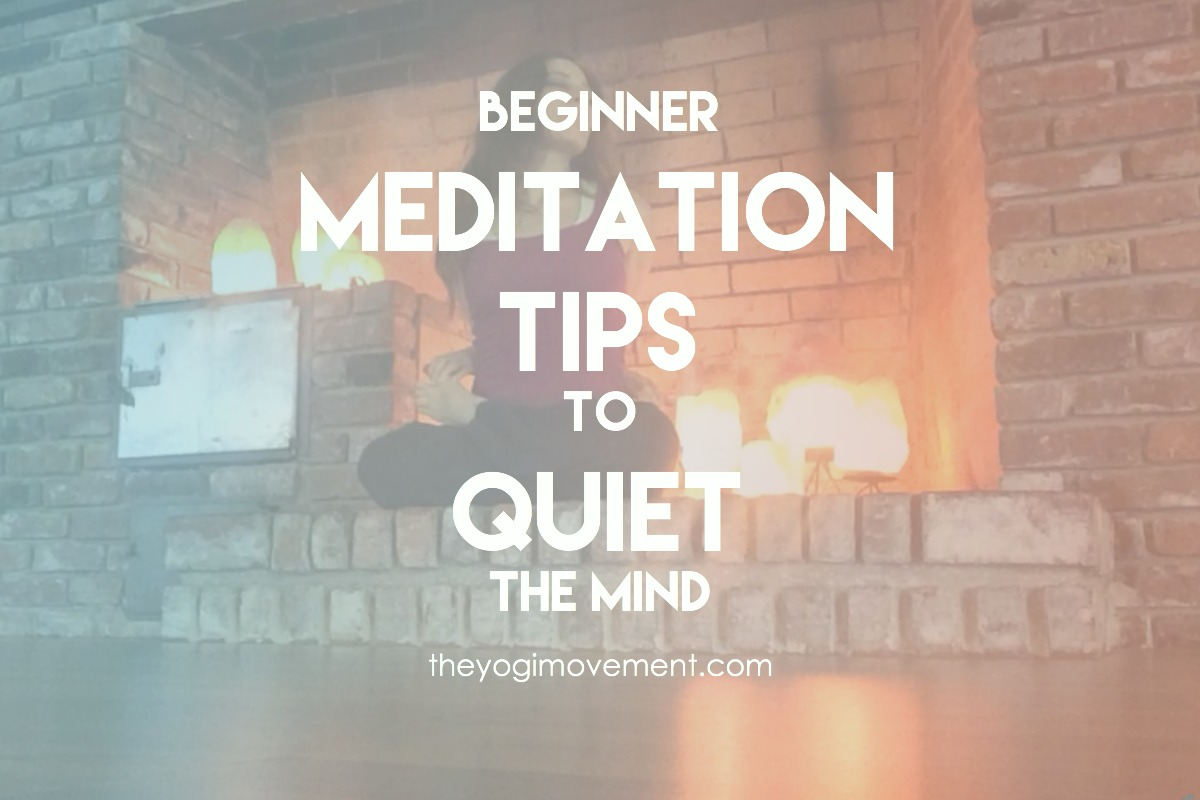 Meditation isn't easy, but everyone can do it. In fact, if you think you can't is when you need it the most. Here are some beginner tips to get things stared with ease..