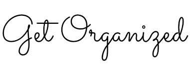 Get orgnaized