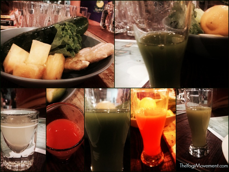 Sampling of juices