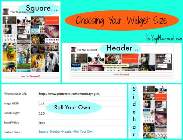 choosing the widget size.jpg Creating A Pinterest Widget For Your Blog