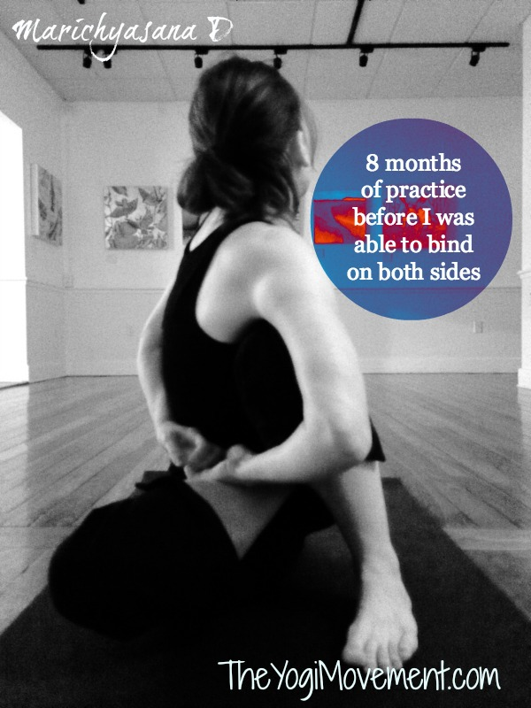 marichysasana D.jpg Why Practice Yoga, Part 1: How Do I Progress In Yoga Practice?