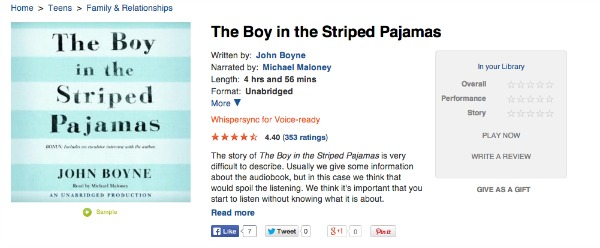 the boy in the pajamas The Boy In The Striped Pajamas & A Bunch Of Book Recommendations From YOU GUYS