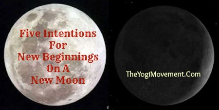 how to write new moon intentions