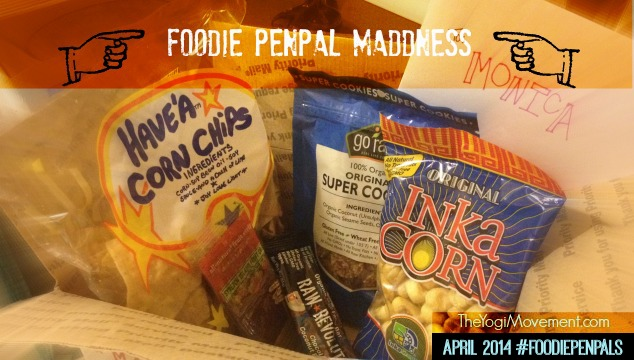 Foodie Penpal Maddness April 2014
