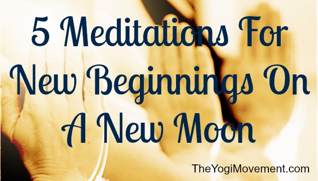 Setting Intentions On A New Moon For New Beginnings