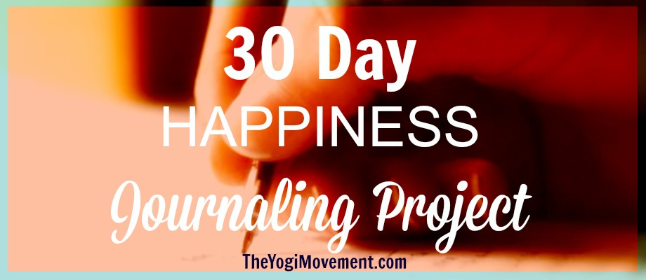30 Day Journaling Challenge for Increased Happiness!