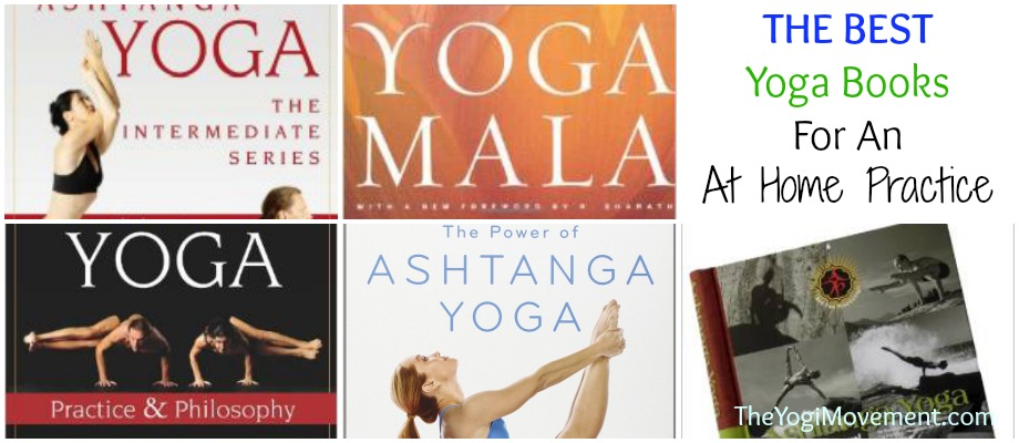 The Best Ashtanga Yoga Books for an at home practice from theyogimovement.com by Monica Dawn Stone