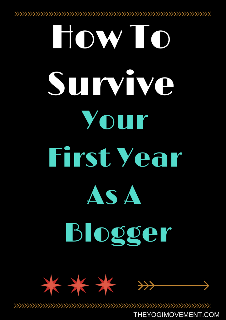 first year blogger tips