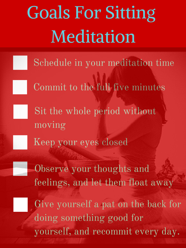 Your Goals For Meditation