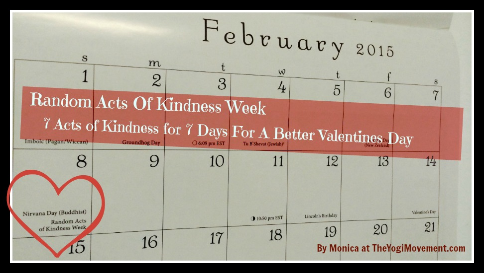 How About Random Acts of Kindness for Valentines Day This Year?
