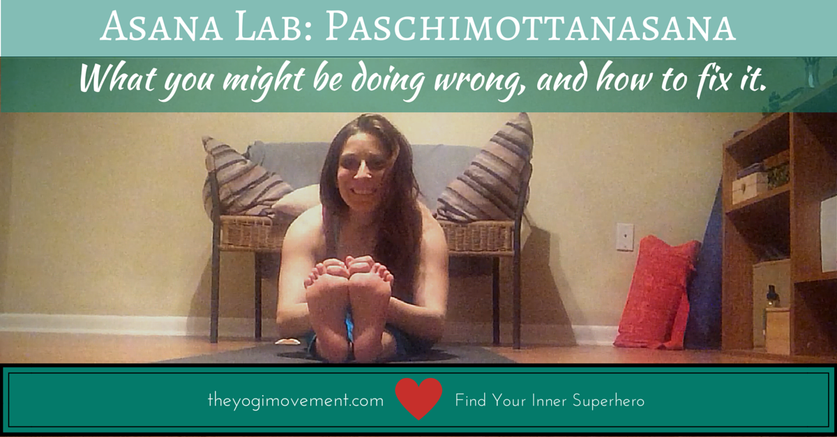 Paschhmottasana: Asana Lab at TheYogiMovement.com by Monica Dawn Stone