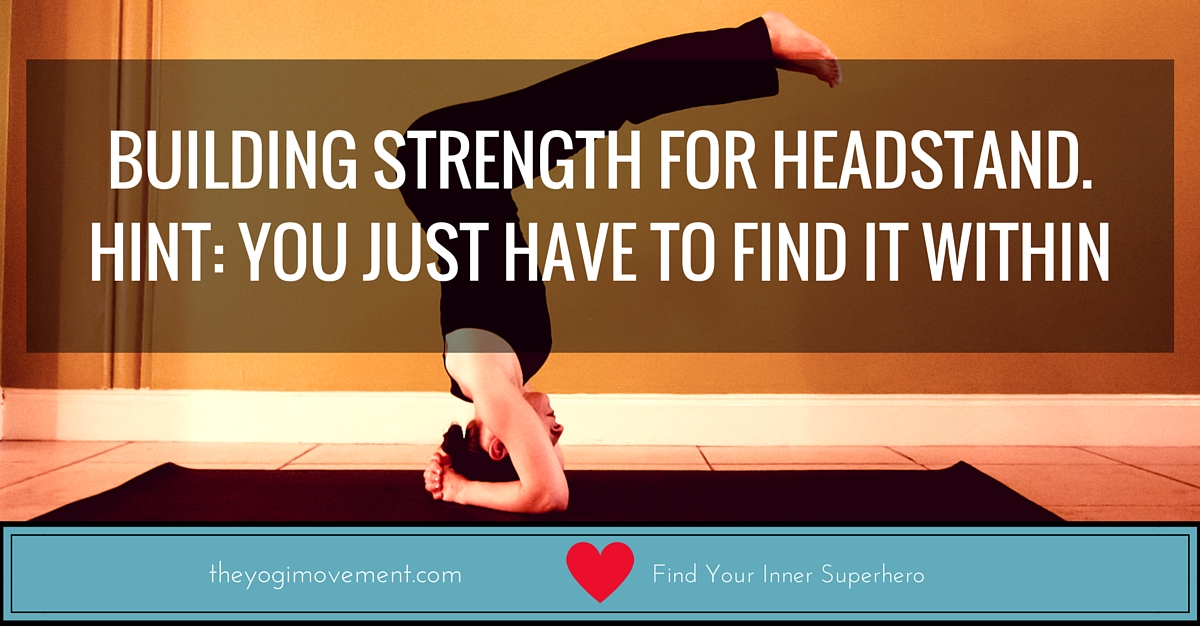 Learn headstand by building strength in your shoulders and back. Watch the video at theyogimovement.com by monica stone