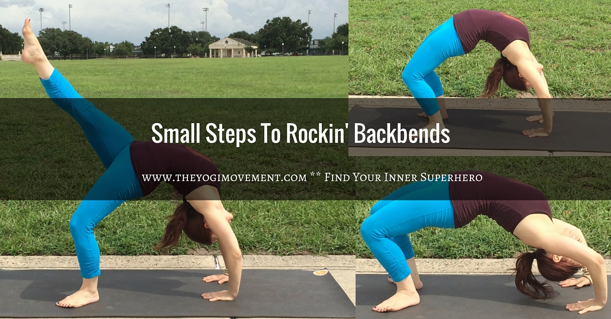 Do you have fear or resistance in backbends? It's totally normal. In my latest post I talk about how to get over your fears and grow stronger by taking small steps in backbends. Check out www.theyogimovement.com for more!