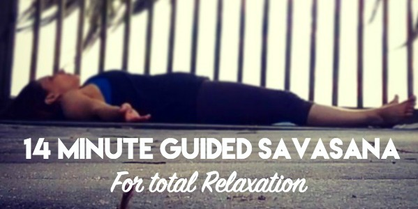 Guided Savasana