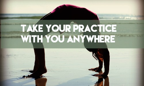 take your practice anywhere