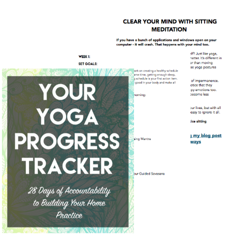 yoga progress tracker