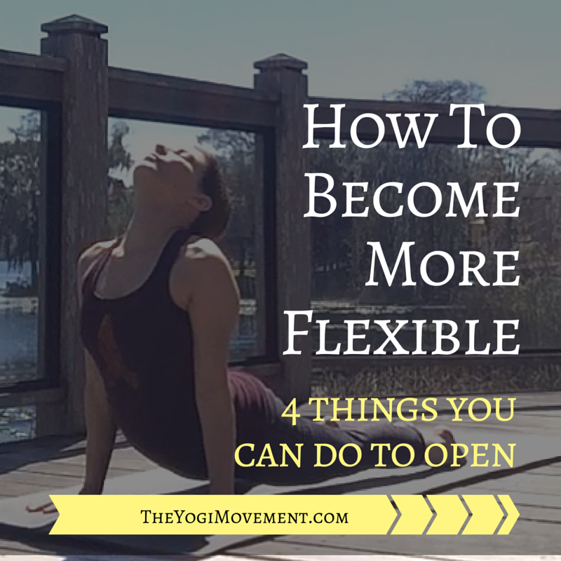 In my latest post, I discuss a few mindset techniques to become more flexible in your yoga practice.