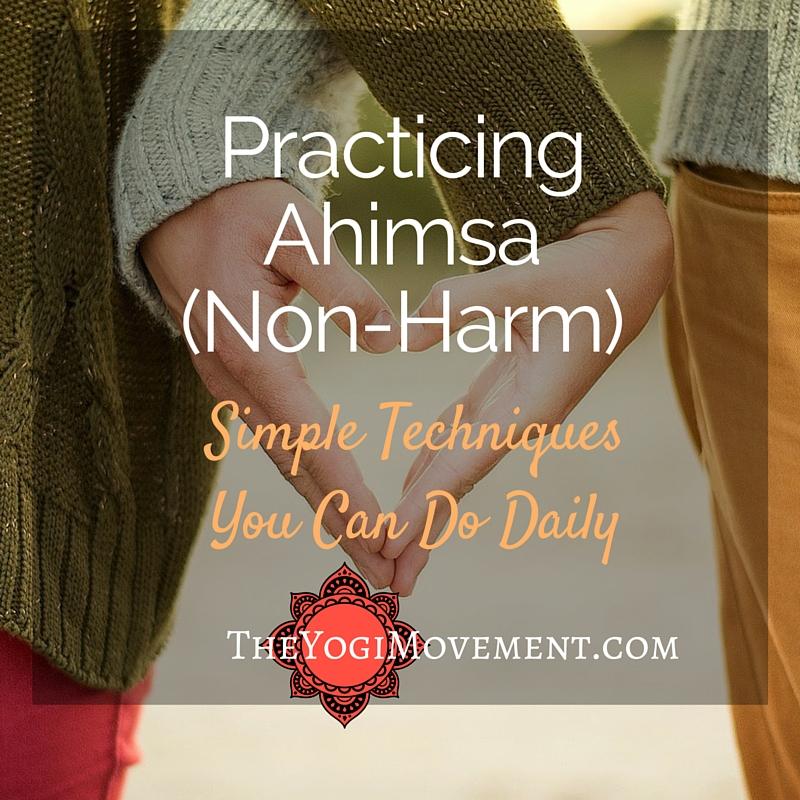 Ahimsa: 4 Ways to Practice Non Harm Daily