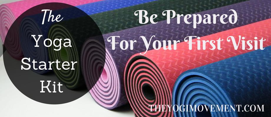 5 Yoga Essentials: A Starter Kit for The Beginner Yogi