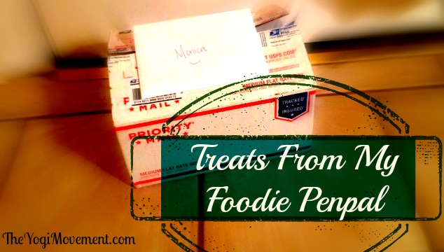 Treats From My Foodie Penpal – March 2014