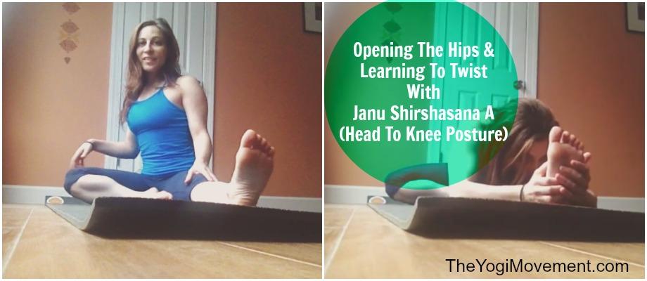 Asana Lab at theyogimovement.com on Janu shirshasana A by Monica Dawn Stone