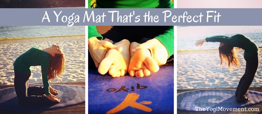 A Yoga Mat That Fits Any Posture (plus a promo code!)