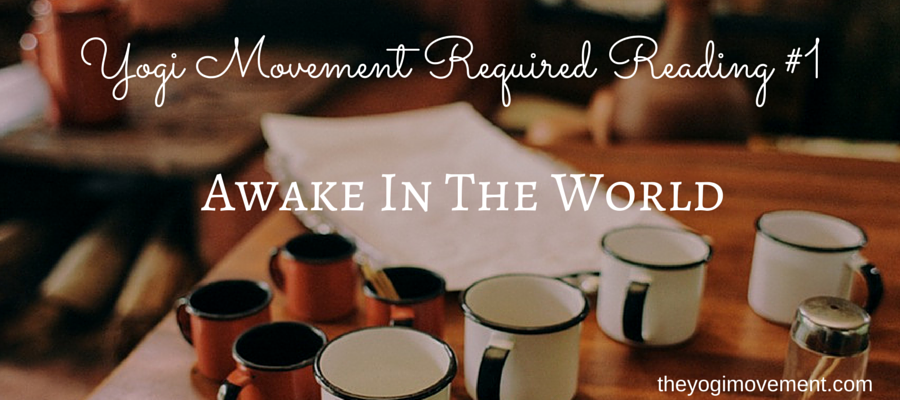 Required Reading #1: Michael Stone – Awake In The World