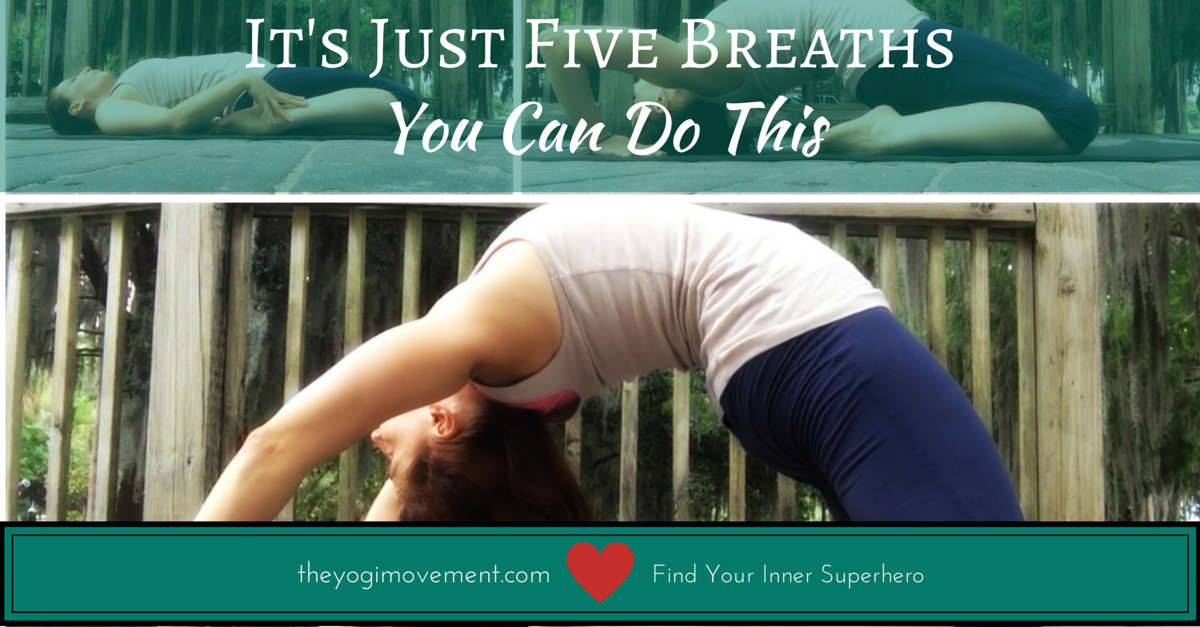 If You're Feeling Resistance In Your Yoga Practice, Try These Two Things…