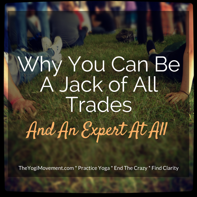You May Have More Than One True Calling. And That's Okay. It's Actually Awesome!