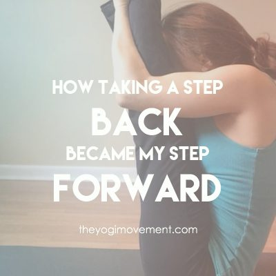 Sometimes Taking a Step Back is Actually a Step Forward